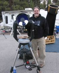 charles garcia at Mt. Pinos star party with his CPC1100